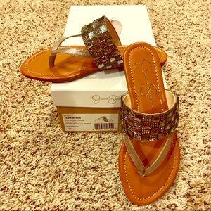 BNIB Jessica Simpson Size 7 Kampsen  sandals